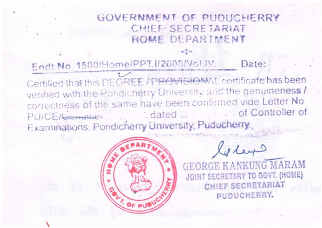 Hrd Attestation Hrd Certificate Attestation Chennai Bangalore
